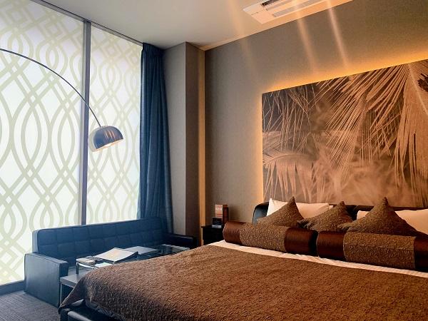 デザインホテルブラックス208号室