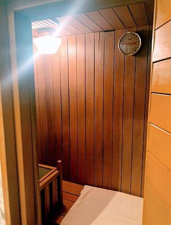 目黒エンペラー405号室のサウナ