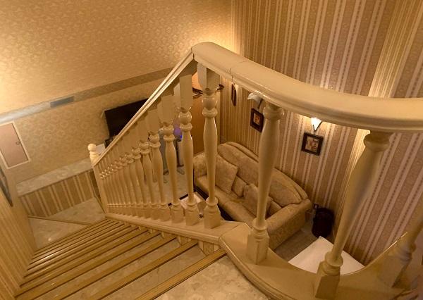 目黒エンペラー405号室の素敵な階段